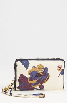 Tory Burch 'Robinson' iPhone Wallet available at #Nordstrom