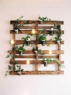Mejores 698 Imagenes De Ideas Con Palets Para Jardin En Pinterest - Decorar-jardines-con-palets