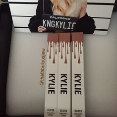 """""""Like"""" BNIB Authentic Kylie Lip Gloss Newly released authentic Kylie lip glosses are sure to make any face pop! This color is a warm mocha, warm brown beige. It is the darkest of the 3 glosses available. Listing is for one (1) gloss. No trades!  Ask me about lower pricing and free shipping!   Same day shipping if purchased before 3:00pm most days! Kylie Cosmetics Makeup Lip Balm & Gloss"""