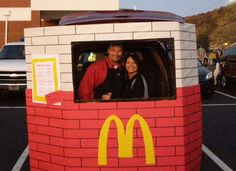 trunk or treat theme ideas mcdonalds drive through