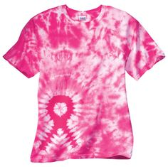 Cancer Shirt Piink Ribbon T-Shirt Tie Dyed Tee Breast Cancer Awareness Womens Tie Dye Shirts, Diy Tie Dye Shirts, Breast Cancer Shirts, Awareness Ribbons, Cancer Awareness, Ribbon Shirt, How To Tie Dye, Tie Dye Dress, Tie Dyed