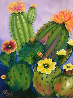 20 excellent DIY examples how to make a beautiful vertical garden . The Effective Pictures We Offer You About Cactus jardin A quality picture can tell you many things. You can find. Cactus Decor, Cactus Art, Cactus Plants, Indoor Cactus, Mexican Paintings, Cactus Painting, Arte Sketchbook, Desert Art, Southwest Art