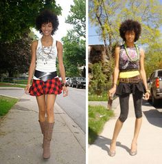 Urban fashion #teamnatural