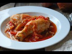 Pollo al chilindrón - Cocinera y Madre