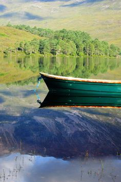 Loch Clair.  Check out the reflection . . . .