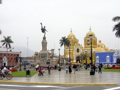Trujillo, Peru.  We stayed in the hotel on the left
