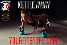 Kettle bells combine the benefits of weight training with the high intensity of cardio excercise. This will result in more strength,lean muscle and conditioning too,among other benefits. Get to yourfitstore.com today for a wide range of kettlebell and join the reveloution! #kettlebells #conditioning #summerbody #weightloss #slimming #gym #revolution #kettle #fitness #cardio #healthylife Kettle Bells, Gym Accessories, Card Io, Summer Body, Weight Training, Excercise, Strength Training, Conditioning, Healthy Life