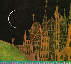 Sir Orfeo: A Legend from England - retold by Anthea Davies, illustrated by Errol Le Cain (1970)