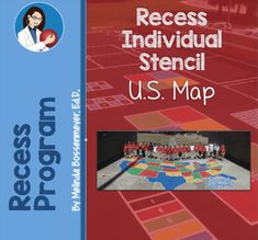 The US Playground Map Stencil is a favorite in schools. The geographically correct US Playground Map stencil is easy to use and affordable. A popular choice of PTA's and Eagle Scouts as a quick upgrade to any school playground. World Map Stencil, Playground Painting, Number Grid, Map Games, School Site, Hopscotch, Us Map, Stencil Painting, Kids Playing