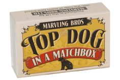 It's barking brilliant! Contains Top Dog Cologne, doggy finger toothbrush, grooming bands and collector's card.