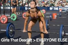 Girls who dead lift are superior, my fav exercise