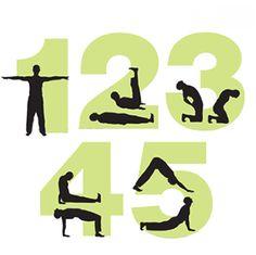 5 tibetan rites (health exercises, yoga)