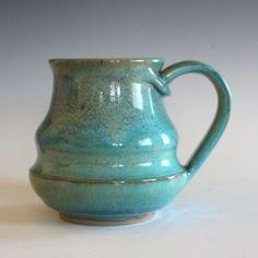Pottery Mug, 13 oz, unique coffee mug, handmade cup, handthrown mug, stoneware…