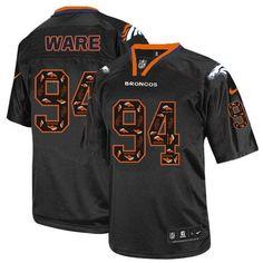 DeMarcus Ware Game Jersey-80%OFF Nike New Lights Out DeMarcus Ware Game Jersey at Broncos Shop. (Game Nike Men's DeMarcus Ware New Lights Out Black Jersey) Denver Broncos #94 NFL Easy Returns.