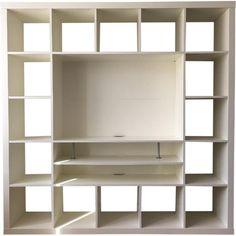 Ikea TV Stand w/ Bookcase