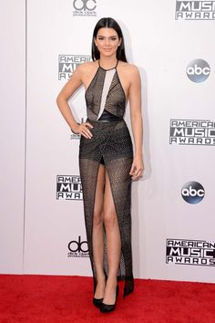 Kendall Jenner in Yigal Azrouël at the 2014 American Music Awards