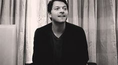 Life Ruiner: someone who constantly ruins your life with their perfection, and smiles while they do it. misha collins gif | Tumblr