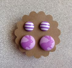 Easter Earring Set by TwoLittleBoats on Etsy
