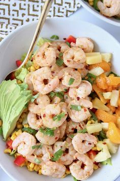 Take a trip to Jamaica with this Caribbean Salad topped with Jerk Shrimp and Honey Lime Dressing! It's zesty, flavorful and easy to make in just 20 minutes! It's also low carb, gluten free and dairy free, making it a healthy choice, that also tastes incredible!
