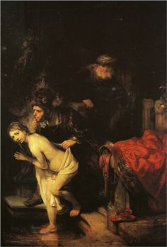 Susanna and the Elders - Rembrandt