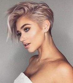 Trendy Very Short Haircuts for Female, Cool Short Hair Styles 2019 Very Short Haircut for Female, 2019 Short Pixie Haircuts and HairstylesVery Short Haircut for Female, 2019 Short Pixie Haircuts and Hairstyles Long Pixie Hairstyles, Very Short Haircuts, Short Hairstyles For Women, Cool Hairstyles, Hairstyle Short, Hairstyle Ideas, Short Hair For Women, Popular Hairstyles, Cute Pixie Haircuts