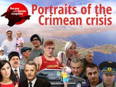 Portraits of the Crimean Crisis  Timeline of events in Crimea through the portraits of heroes and anti-heroes of the Crimean crisis.  Our joint project with Euromaidan Press