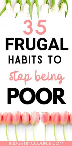 35 Frugal Habits *You Need* To Stop Being Poor! Stop being so poor and broke with these genius (yet simple) frugal tips and tricks! Best Money Saving Tips, Ways To Save Money, Saving Money, Tips And Tricks, Frugal Living Tips, Frugal Tips, Budget Envelopes, Budget Planer, Making A Budget