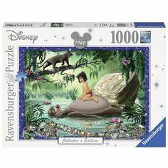 Puzzle Ravensburger 1000 pezzi Disney Il libro della giungla Collector's Edition Ravensburger Puzzle, Disney Stars, Disney Films, Walt Disney, The Jungle Book, Disney Puzzles, Disney Collector, Akita, 1000 Piece Jigsaw Puzzles
