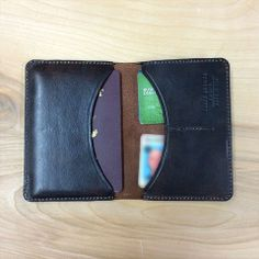 Travel Wallet by Black Anchor