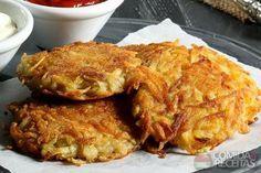Receita de Batata rosti com queijo - Comida e Receitas