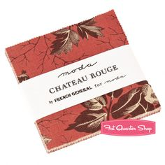Chateau Rouge Charm Pack French General for Moda Fabrics