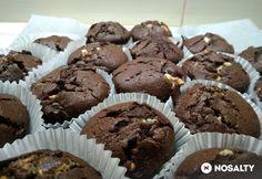Triplacsokis muffin Muffin, Food Porn, Breakfast, Google, Morning Coffee, Muffins, Cupcakes, Treats