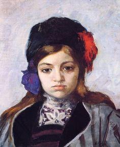 The Athenaeum - Child with Turban (Henri Lebasque - )