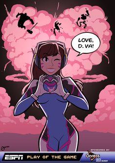 Love, D.Va - Pixel Pulp