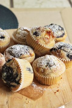 Nectarine & Blueberry Muffins