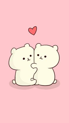 dog and cat . Cute Wallpaper For Phone, Couple Wallpaper, Kawaii Wallpaper, Cute Wallpaper Backgrounds, Cellphone Wallpaper, Girl Wallpaper, Iphone Wallpaper, Screen Wallpaper, Kawaii Chibi