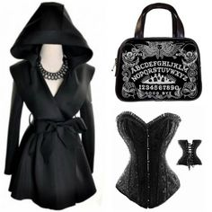 Spooky girl style at #RebelsMarket  #Goth #Gothic #Ouija