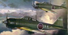 Hasegawa 1/48 Mitsubishi A6M2b Zero Fighter Type 21 - HE07411