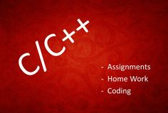 dr50446 : Do C or C++ Programming, Assignment or Home - Work in 24 Hours on fiverr.com