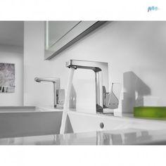 ROCA - Grifo monomando para lavabo Roca L90 maneta lateral con desagüe