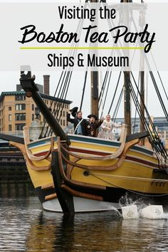 Visiting the Boston Tea Party Museum with kids -- what you should know before you go