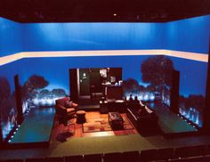 Graceland. Lincoln Center Theater. Scenic design by Robin Vest. Projections by Aaron Rhyne. 2010