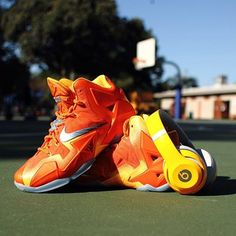 9f9a7f09760  Nike  LeBron 11  Kicking off the day on the court  Get in