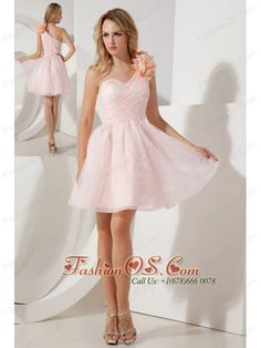 Buy a line one shoulder mini length organza grad dresses in baby pink from grade graduation dresses collection, one shoulder neckline a line in baby pink color,cheap mini length dress with zipper back and for prom cocktail party homecoming graduation . Wholesale Prom Dresses, Cheap Homecoming Dresses, Plus Size Prom Dresses, Prom Party Dresses, Pageant Dresses, Cheap Wedding Dress, Quinceanera Dresses, Bridesmaid Dresses, Graduation Dresses