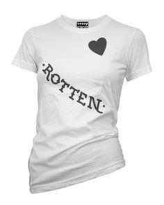 Harley Quinn's Rotten - Face Tattoos - Tee Shirt Aesop Originals Clothing�