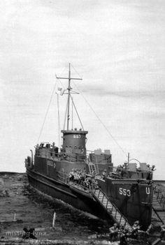missing-lynx.com - Gallery - Guy SW DeLillio's LCI at D-Day diorama