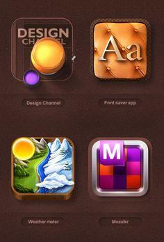 Mike | Creative Mints : Freelance Web Design - iOs icons