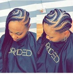 "1,503 Likes, 4 Comments - Ghanaian hairstyles (@ghanaianhairstyles) on Instagram: ""@braided__ 😍 #cornrowbraids Lovely pattern . . . #follow @ghanaianhairstyles @braided__…"""