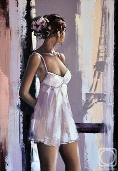 Alexander Gunin / oil, canvas, 70x50cm, 2013.
