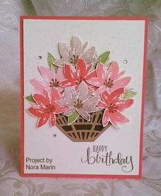 Project by Nora Marin Stampin'UP